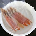 冷凍した蟹の解凍方法 ~時短の裏技 カニしゃぶ編~